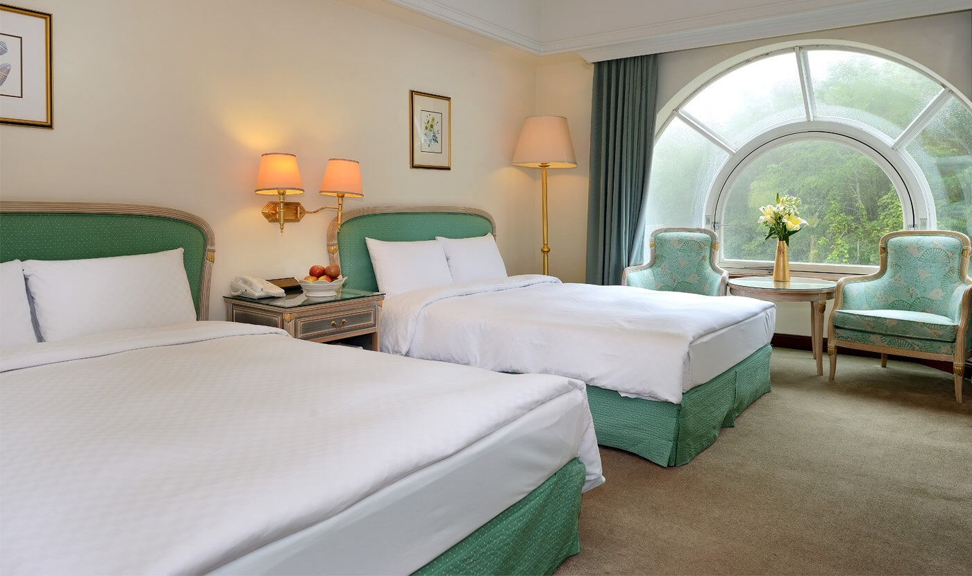 Classic 4-bed room